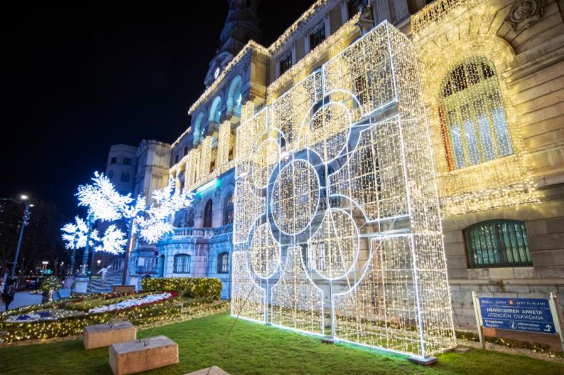 Bilbao enciende la Navidad más especial y mágica. Información suministrada por el Ayuntamiento de la Villa - BizkaiaGaur